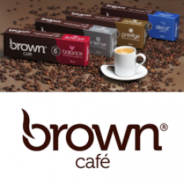 Cápsulas Café Brown