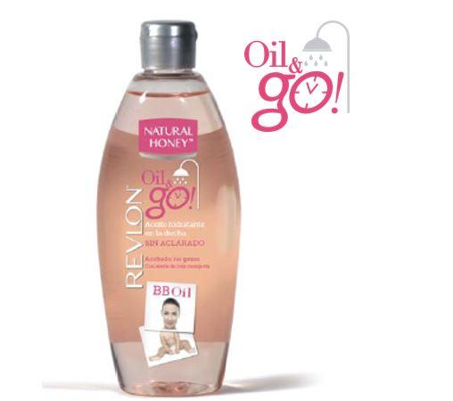 Aceite hidratante en la ducha Oil&Go!