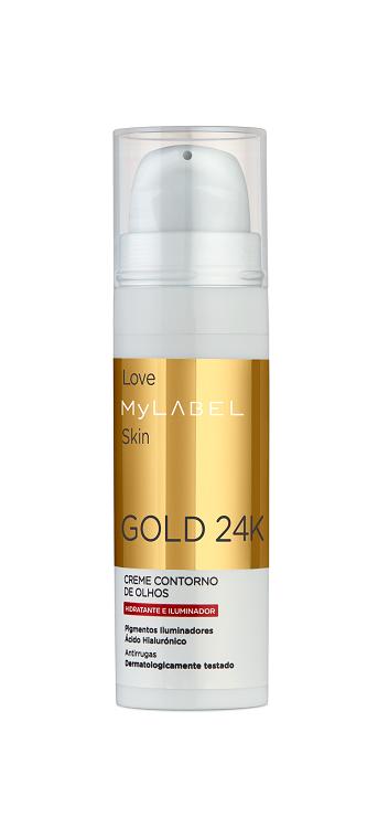 MyLABEL GOLD 24K Creme Contorno de Olhos